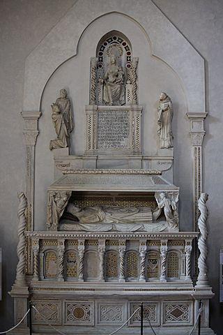 Monumento funebre al Cardinale De Braye