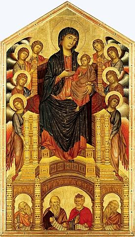 Maestà di Santa Trinità