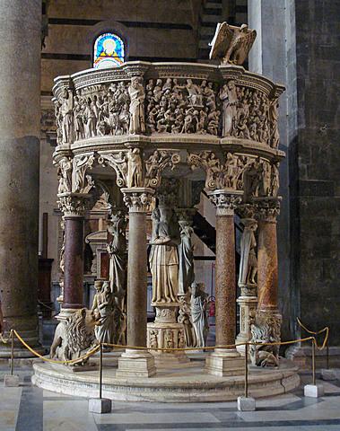 Pulpito del Duomo di Pisa