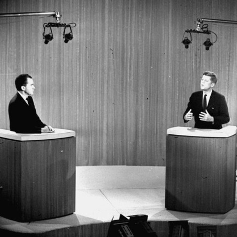 JFK Debates Richard Nixon on Television