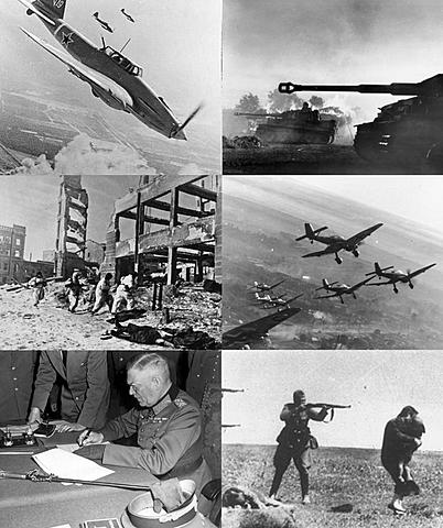 L'Allemagne envahit l'URSS en ouvrant le front de l'Est