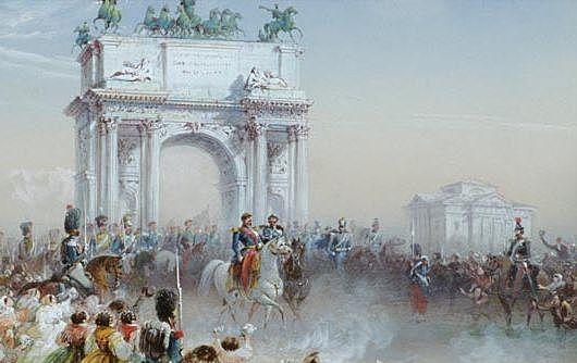 Napoleone III e Vittorio Emanuele II