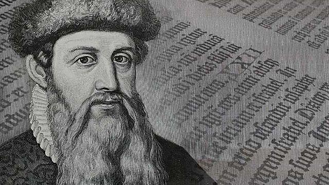 IMP: Gutenberg abrió su empresa de libro