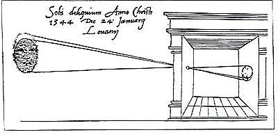 PH: Aristóteles construyó la primera cámara oscura
