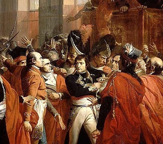 Il colpo di stato del 18 brumaio
