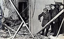 La tentative d'assassinat d'Hitler échoue
