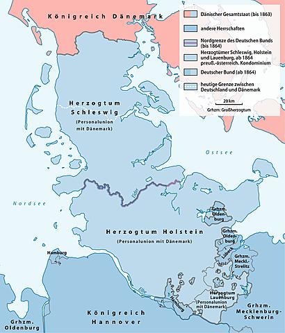 Invasione prussiana della Danimarca