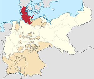 II Guerra contro la Danimarca: annessione dello Schleswig - Holstein