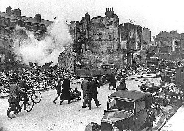 Bombardeigs sobre Anglaterra