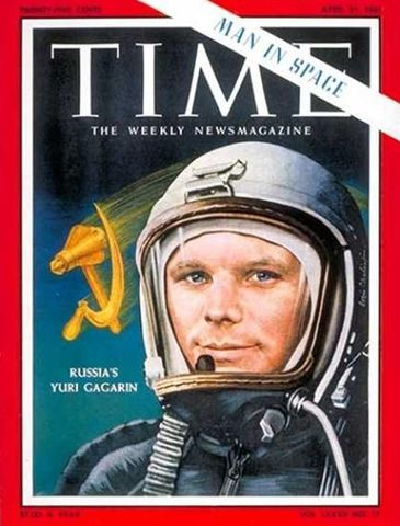 RUSSIAN: First man in Space!