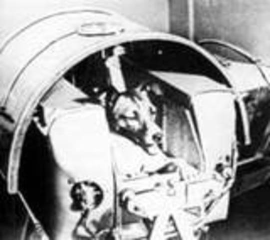 Sputnik II Launches First Animal In Space