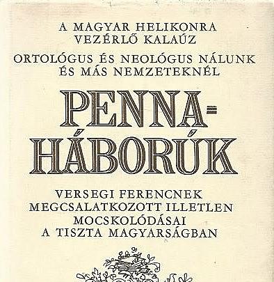 Cseke; a neológusként a pennaháborúkban