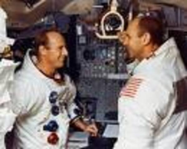 Pete Conrad and Alan Bean