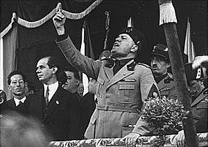 Inicis de les accions de Mussolini (1922-1925)