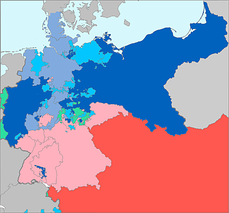 Annessioni prussiane del 1866