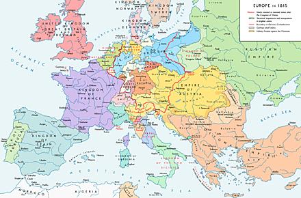 La situazione in Europa prima del 1848