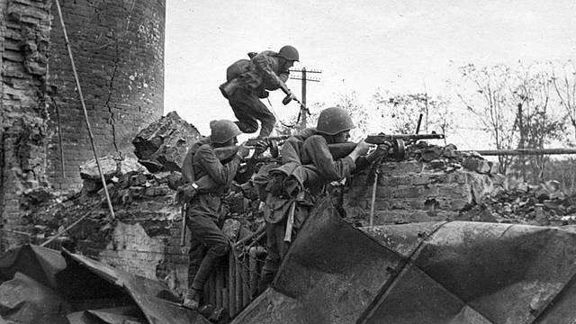 La batalla de Stalingrad