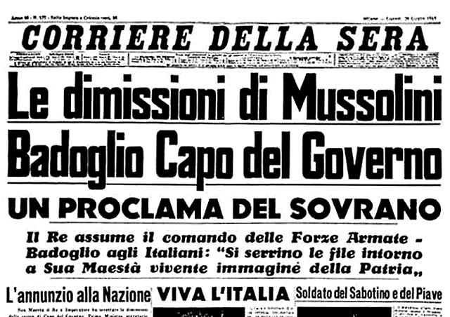 Detenció de Mussolini