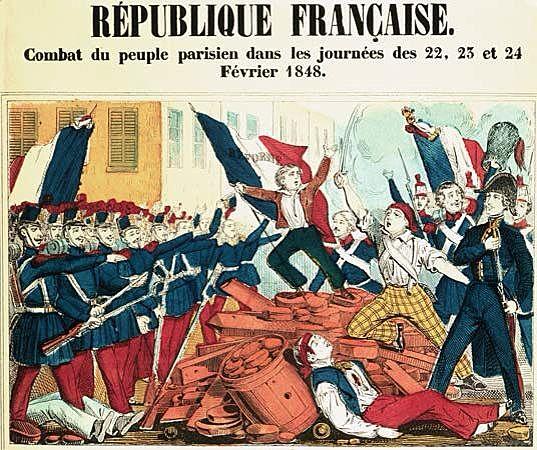 Le cause che portarono alla rivoluzione del 1848