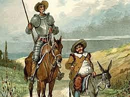"""""""El Quijote"""" - Miguel de Cervantes"""