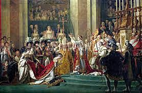 Coronación de Bonaparte como emperador