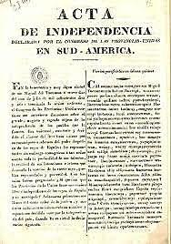 Independencia de las Provincias Unidas del Rio de la Plata