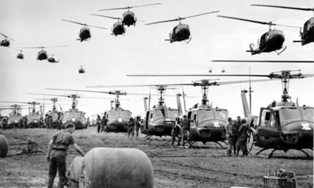 First Ground Troops in Vietnam (P)