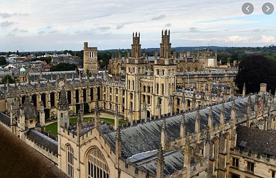 Reconeixement d'Oxford com a universitas