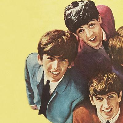 Время выхода музыкальных альбомов группы The Beatles timeline