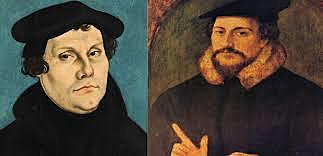 Luther and Calvijn