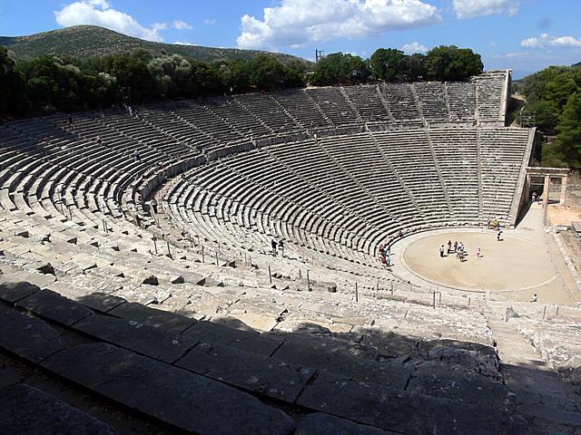 Obra representativa Grecia (Teatre)