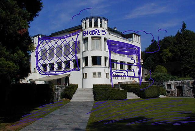reestructuració de Villa Karma, Montreux