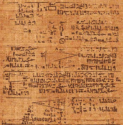Els 87 Problemes d'Ahmes (1850 aC)