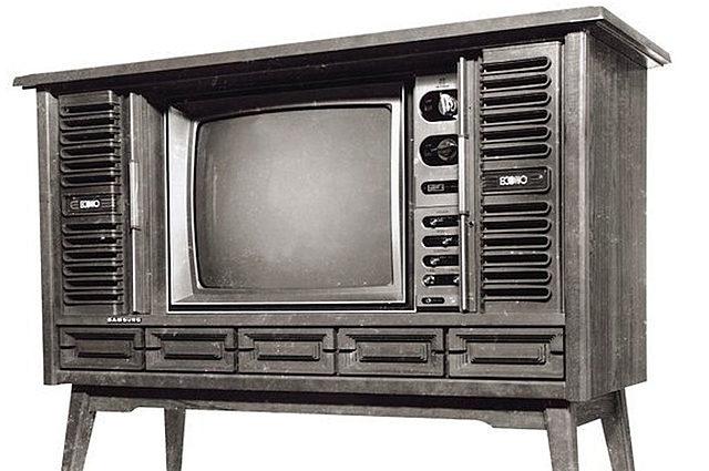Первый телевизор.