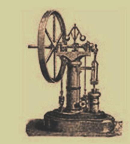 La primera máquina de vapor