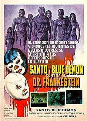 Santo y Blue Demon contra el Dr Frankestein