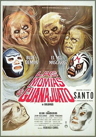 El Santo vs las momias de Guanajuato