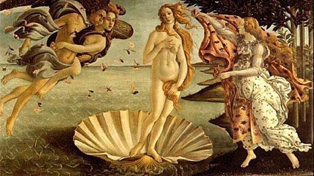 El Nacimiiento de Venus