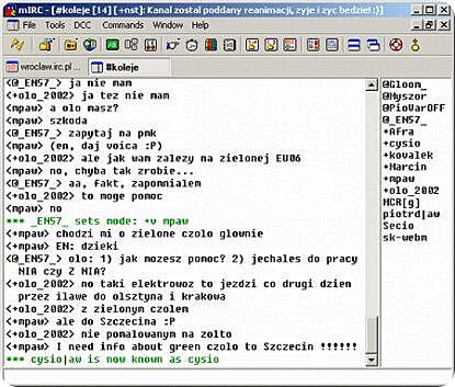 Internet Relay Chat (IRC)