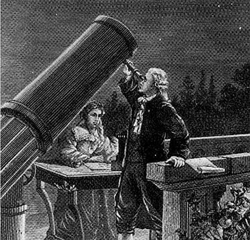 William Herschel discovers Uranus