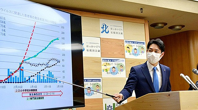 SARS-CoV-2 cases begins to fall in Japan's Hokkaido, ceasing the state of emergency