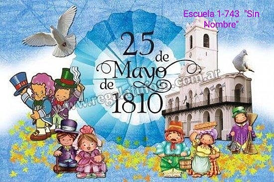 Acto virtual conmemoracion  25 de mayo de 1810