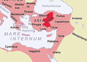 Anexión del reino Galata.