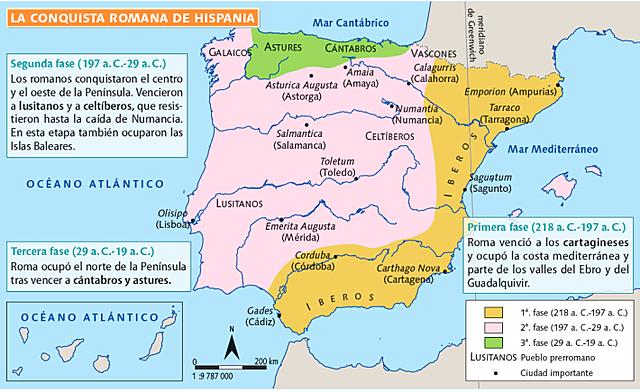 Anexión definitiva de Hispania.