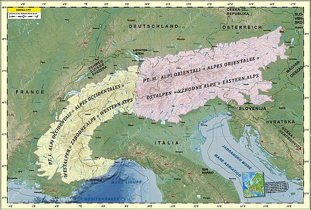 Dominio definitivo de los Alpes.
