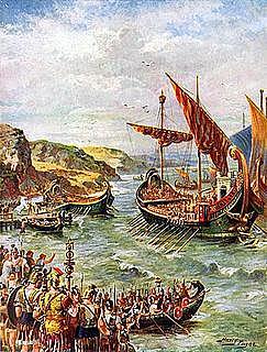 Claudio invade Britania