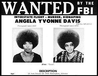 Angela Davis   F.B.I Most Wanted