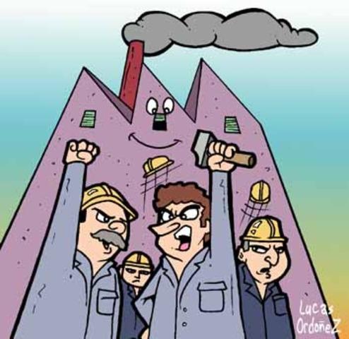Comienzo de la Division de trabajo