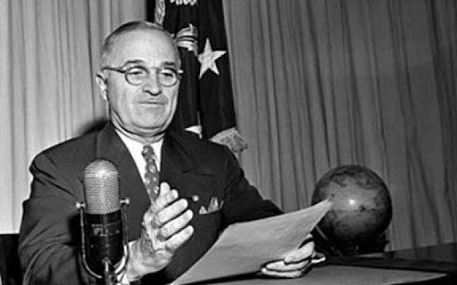 Se crea la Doctrina Truman