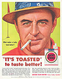 Lucky Strike: It's Toasted